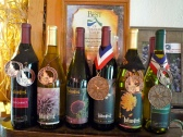 Wine from Indian Creek Winery, site of the Hermit Music Festival