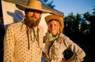 Travis and Ava, Hermit Festival Directors ©Patrick Sweeney